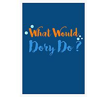 What Would Dory Do? Photographic Print