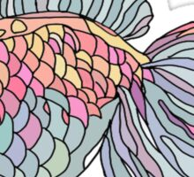 colorful underwater fish  Sticker