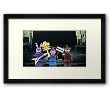 Lego Five Nights at Freddy's Framed Print