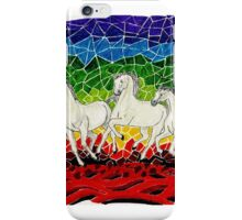 RUNNING HORSES(NATURE'S FURY) iPhone Case/Skin