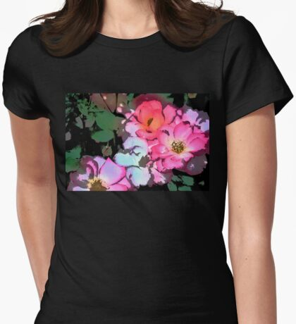 Rose 197 Womens Fitted T-Shirt