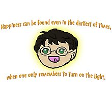 Harry Potter Happiness! Photographic Print