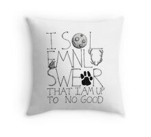 I Solemnly Swear... Throw Pillow