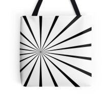 Retro trippy pattern Tote Bag