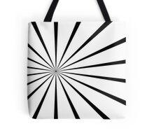 Retro trippy pattern Tote Bag