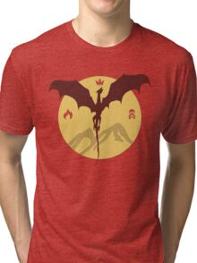 Smaug The Stupendous Tri-blend T-Shirt