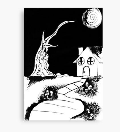 Death House Canvas Print