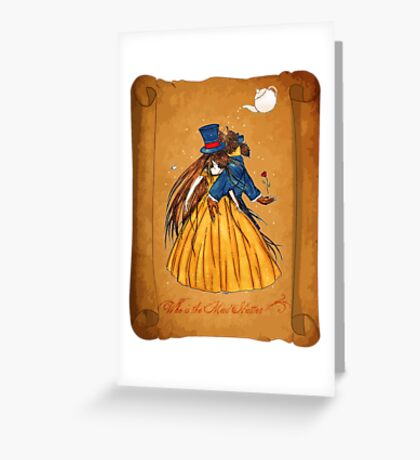 Wanted Beauty and the Beast Greeting Card