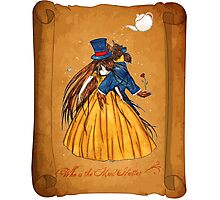 Wanted Beauty and the Beast Photographic Print
