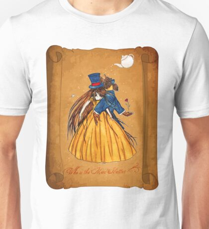 Wanted Beauty and the Beast Unisex T-Shirt
