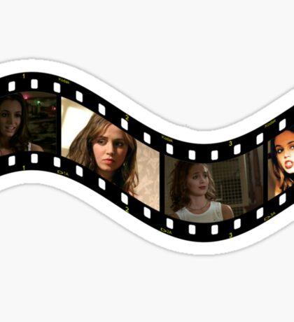 Buffy Faith Eliza Dushku 2 Sticker