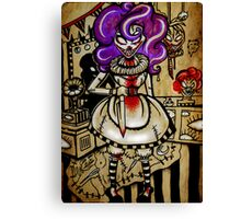 Twisted the Clown Canvas Print