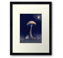 Midnight Mush Framed Print