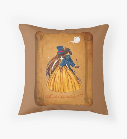 Wanted Beauty and the Beast Throw Pillow