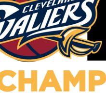 Cleveland Cavaliers 2016 NBA Finals Champions Sticker