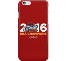 Cleveland Cavaliers 2016 NBA Finals Champions iPhone Case/Skin