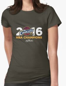 Cleveland Cavaliers 2016 NBA Finals Champions Womens Fitted T-Shirt