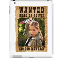 Buffy the Vampire Slayer Wanted iPad Case/Skin