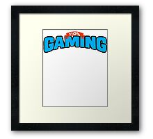 110% Gaming Framed Print