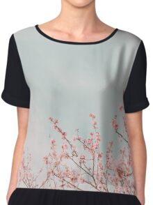 Spring Time  Women's Chiffon Top