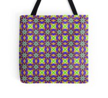Seamless Star Jumps Tote Bag