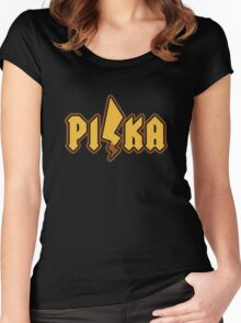 PI/KA Women's Fitted Scoop T-Shirt