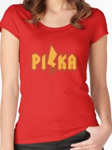 PI/KA Women's Fitted Scoop T-Shirt