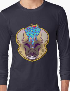 Cupcake Spotted Hyena Long Sleeve T-Shirt