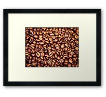 Perfect Coffee Beans Framed Print