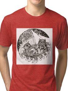 The Owl & the Pussycat Tri-blend T-Shirt