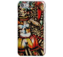 Peril the Broken Clown Doll iPhone Case/Skin