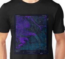 USGS TOPO Map Alaska AK Mount McKinley A-4 357761 1954 63360 Inverted Unisex T-Shirt