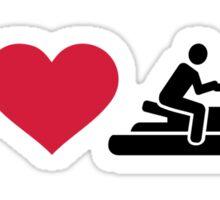 I love Jet ski racing Sticker