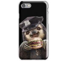 BURGER COP iPhone Case/Skin