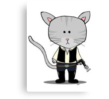 Star Wars Han Solo - Gizmo The Cat Canvas Print