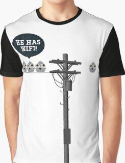 Wi Fi Graphic T-Shirt