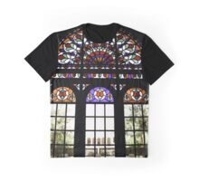 Rainbow Window Graphic T-Shirt