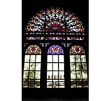 Rainbow Window Photographic Print