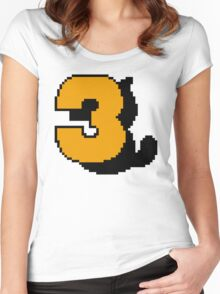 SMB3 Women's Fitted Scoop T-Shirt