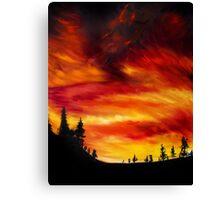 Spirit Versus Sky Canvas Print
