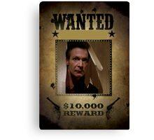 Buffy Ethan Rayne Wanted Canvas Print