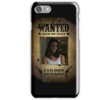 Buffy Faith Wanted Eliza Dushku 1 iPhone Case/Skin