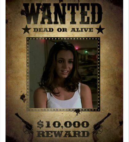 Buffy Faith Wanted Eliza Dushku 1 Sticker
