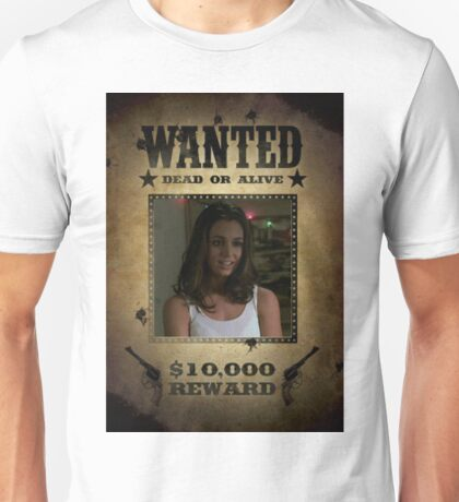 Buffy Faith Wanted Eliza Dushku 1 Unisex T-Shirt