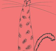 Funny Thin Cat by annathesinger