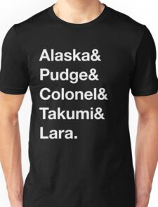 Looking For Alaska - Names Unisex T-Shirt