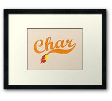 Char Framed Print