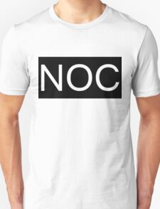 NOC Black T-Shirt