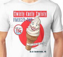 Twirly Curly Twisty Frosty Top! Unisex T-Shirt