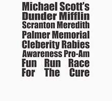 Dunder Mifflin Fun Run Race For The Cure Unisex T-Shirt